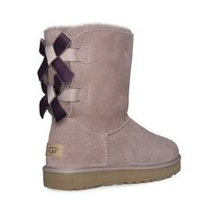 891f51405 (eBay Advertisement) UGG BAILEY BOW II SHIMMER DUSK SHEEPSKIN SHORT WOMEN'S BOOTS  SIZE US 10 NEW