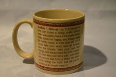 Collectible Mugs & Cups Father Definition, Actifry Recipes, How To Make Fire, Mug Cup, Coffee Mugs, Berries, Cups, Free Shipping, Tableware