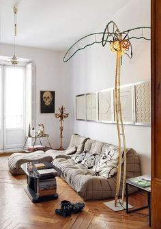 ligne roset - and neon palm tree - WANT