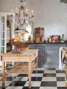 French Decor, French Country Decorating, Country French, Country Charm, Home Interior, Interior Design, Country Kitchen, French Kitchen, Kitchen Rustic