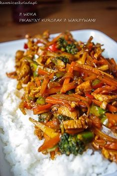 Helathy Food, Asian Recipes, Healthy Recipes, Big Meals, Best Appetizers, Food Inspiration, Chicken Recipes, Good Food, Food Porn