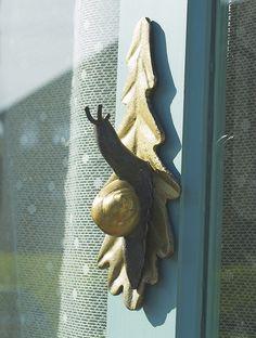 *Snail Cottage - door knocker