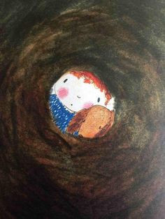 Rebecca Cobb - The Something: gluren door het sleutelgat Illustrations And Posters, Children's Book Illustration, Whimsical Art, Art Plastique, Book Art, Creations, Dachshund, Sketches, Art Prints