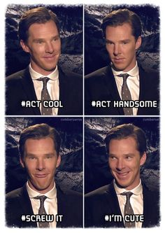 Benedict Cumberbatch has all of it down pat