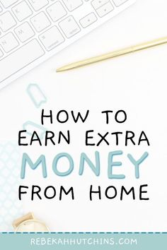7 Side Hustles You Can Do to Make Extra Money Online Do you wish you could start making money online Make Quick Money, Make Money Blogging, Make Money From Home, Way To Make Money, How To Earn Money For Teens, Blogging Ideas, Home Based Business, Business Tips, Online Business