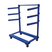 Vestil Portable Cantilever Rack Carts are Mobile Racks used for Bar Stock Storage and more. /b> Vestil Portable Cantilever Rack Carts can be used to store and transport pipe, conduit, angle iron and tubing. Each cart includes three pairs of Lumber Storage Rack, Steel Storage Rack, Lumber Rack, Steel Racks, Cantilever Racks, Medal Rack, Pipe Rack, Farm Tools, Workshop Storage