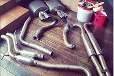 APR Exhaust w/ Resonator Section. *LOCAL