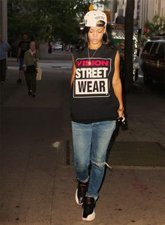 Vision street wear and playoff XII's?! Ooooooh, she's a keeper.