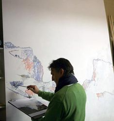 Pintar con espátula paisajes hermosos | Pintar al óleo Deco, Painting, Art, Painted Canvas, Paintings, Drawings Of Horses, Sketch, Art Background, Deko