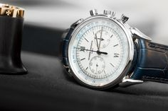 Ahead of Watches & Wonders, Haute Time got an exclusive first look at the new Vacheron Constantin Historiques Cornes de Vache 1955 Chronograph. Most Beautiful Watches, Amazing Watches, Cool Watches, Watches For Men, Vacheron Constantin, Silver Pocket Watch, Luxury Watch Brands, Elegant Watches, Leather Watch Bands