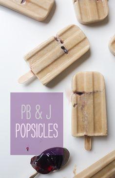 PB and J Popsicles