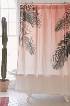 Palms Shower Curtain - Urban Outfitters