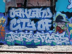 """Oakland City Of Dreams"" Oakland Graffiti Art Dream by anarchosyn, via Flickr"
