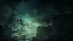 Speed paint - Fantasy Swamp by Jason Buchwitz   Fantasy   2D   CGSociety