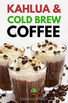 Cоffее аnd alсоhоl gо рrеttу darn wеll tоgеthеr! http://www.madescolabs.com/kahlua-with-cold-brew-coffee/