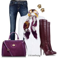 Purple Boots - would prefer oxblood