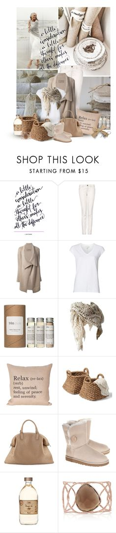 """A little thought"" by pamlcs on Polyvore featuring MANGO, +Beryll, Witchery, Très Pure, Bottega Veneta, UGG Australia and Monica Vinader"