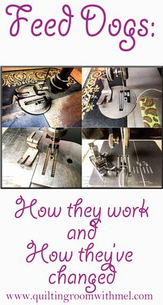 Sewing machine feed dogs - How they actually work and how they've changed over…