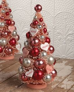 Shop XOXO Valentine's Day Tree from BETHANY LOWE DESIGNS at Horchow, where you'll find new lower shipping on hundreds of home furnishings and gifts. Valentine Tree, Valentine Crafts, Happy Valentines Day, Valentine Ideas, Bethany Lowe, Bottle Brush Trees, Valentines Day Decorations, Diy Crafts, Instagram