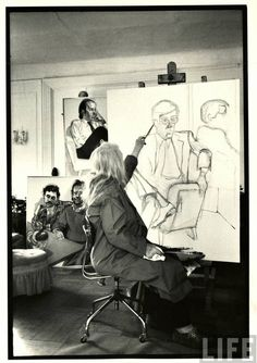 Alice Neel by Alfred Eisenstaedt (1979).
