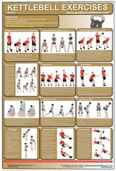 Exercise Workout Chart | Buy Medicine Ball Exercise Workout Posters Charts for Fitness for Your ...