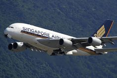 Singapore Airlines (SQ/SIA) / A380-800 / 9V-SKC / 07-31-2011 / HKG by Mohit Purswani, via Flickr