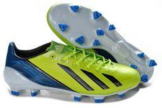 save off 38126 e298f Adidas F50 Adizero TRX FG Messi Limited Soccer Cleats - Neon Green Black  Blue  55 Mens