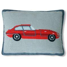 Jonathan Adler Sports Car Needlepoint Throw Pillow, Red, http://www.amazon.com/dp/B00H9DKQ7S/ref=cm_sw_r_pi_awdm_NRwnvb1JQ13CB