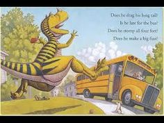 HOW DO DINOSAURS GO TO SCHOOL? Read Along Aloud Story Audio Book for Chi...