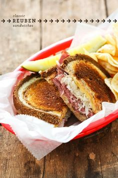 Classic Reuben Sandwiches for the ultimate sandwich lover