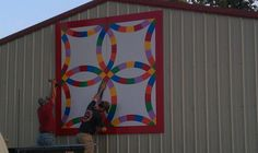 Barn Quilt order yours in any size from 2 in square to 8 ft square. Put on barn or order one of our barn birdhouses with a quilt on it! custombarnquilts@gmail.com