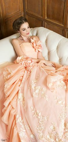 Ah, so gloriously pink! Somehow, I like black leather motorcycle boots and frothy rose gowns in equal measure. Beautiful Gowns, Beautiful Outfits, Simply Beautiful, Beautiful Life, Bridal Gowns, Wedding Gowns, Evening Dresses, Prom Dresses, Dresses 2016