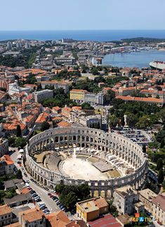 Pula, a city that has existed for three thousand years, is situated in the south of the Istrian peninsula, Croatia