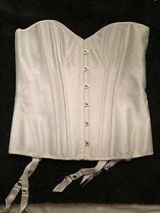White Coco Corset Honey Birdette M   eBay