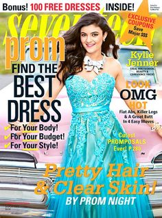 Behind The Scenes of Kylie Jenner's Seventeen Prom photo shoot!