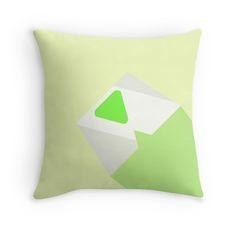 """Peridot Design Steven Universe"""" Throw Pillows by DDeSimone   Redbubble"""