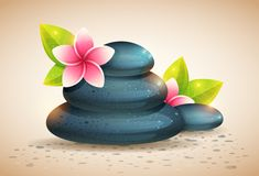 Create Detailed Spa Stones and Flowers in Adobe Illustrator