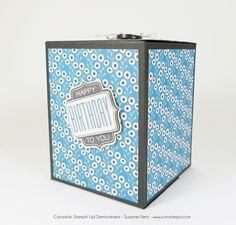 Hi everyone, I'm on a kick trying to be creative with my punches lately. Hope you don't mind. Today I'm using the new curvy corner trio punch to make a pretty lip of the box. I really liked how ...