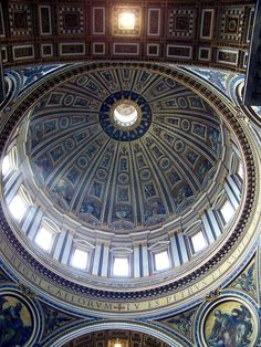 Vatican City - Michelangelo's Dome, Saint Peter's Basilica