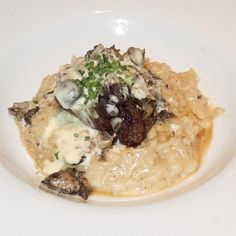 White Truffle Butter Sauce Recipe served at Le Cellier in EPCOT at Disney World  - YUM!