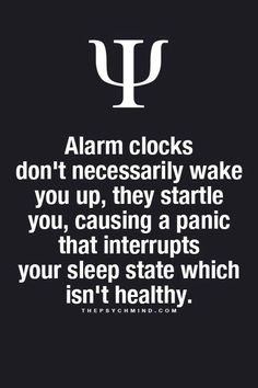 Probably a good thing that I wake up way before my alarm clock goes off.  I'd hate to startle myself to death ;)