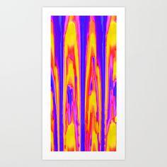 Tie Dye Sky Art Print by Vikki Salmela - $17.00