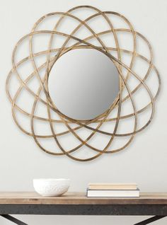 Galaxy wall mirror