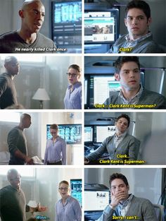#Supergirl - Kara, Winslow Schott & James Olsen #Season1 #1x03