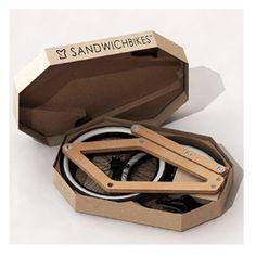 Le Sandwichbikes : un vélo en bois en kit Cadeaux 2 Ouf : idées de cadeaux insolites et originaux !: Le Sandwichbikes : un vélo en bois en kit