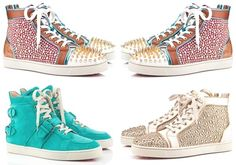 Collection of Louboutin Sneakers