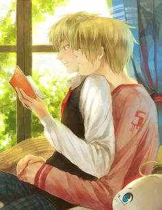 by 零… - Hetalia - America / England|| I can totally see this happening. :3