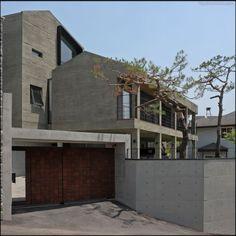 매송헌/방철린 Maesong-heon Residence desgned by Bang, Chul-rin / Architect Group CAAN. Win the Acheon prize of 2014 KIA Awards. Win the Excellence prize of 2014 Korean Architecture Cultural Awards.
