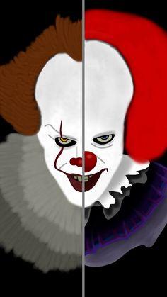 #fierce#inktober#Inktober2017#it#pennywise#clown#horrormovie