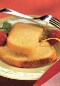 Bread machine lemon cake